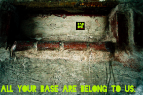 All your base are belong to us.